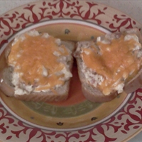 Bacon Cream Cheese Tuna Melt