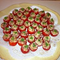 Bacon Stuffed Cherry Tomatoes