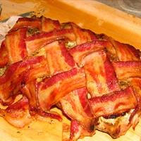 Bacon Wrapped Adobo Pork Loin Roast