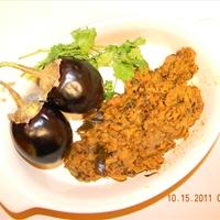 Baigan Bharta (Mashed Eggplant)