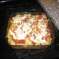 Baked Beef Ziti (5 Points)