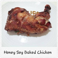 Baked Chicken Leg (eggless)
