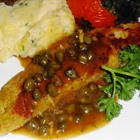 Baked Orange Roughy Italian Style
