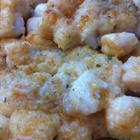Baked Parmesan Scallops