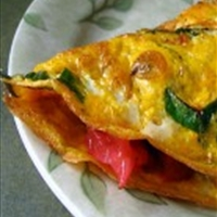 Baked Pepper Omelet