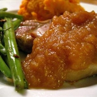 Baked Pork Chops & Apple Gravy