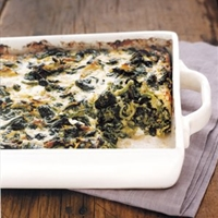 Baked Spinach and Gruyere
