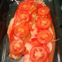 Baked Whiting, Sea Trout Or Redfish