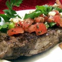 Balsamic Tomato Steaks