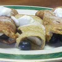 Banana Berry Crepes