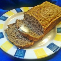 Banana Bread (No Sugar Added)