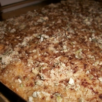 Banana Pumpkin Seed Coffee Cake