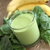 Banana Spinach Protein Shake