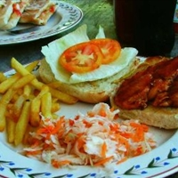 Barbecued Chicken Sandwich