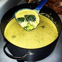 Barb's Broccoli Cheese Soup