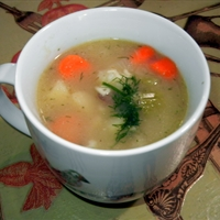 Barley Mushroom Soup