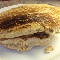 Basic Whole Wheat Oatmeal Pancakes