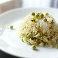 Basmati Rice With Green Peas
