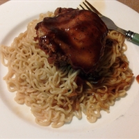 BBQ Chicken Noodles
