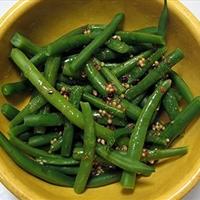 Beans with Vinaigrette