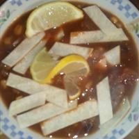 Beef Enchilada Soup