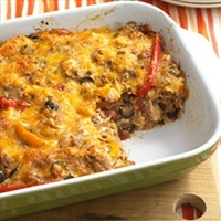Beef Nacho Casserole