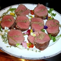 Beef Tenderloin (Filet Mignon) Stuffed with Wild Mushrooms