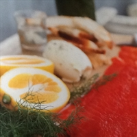 Beetroot-cured Salmon Gravadlax With Fennel Vodka