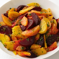 Beets with Orange Vinaigrette