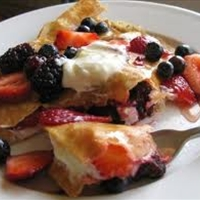 Berry Delicious Fruit Crepes