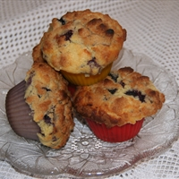 Best Blueberry Muffins with Streusel Topping