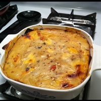 Best chicken tortilla casserole
