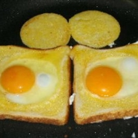 Birds Nest (Eggs and Toast)