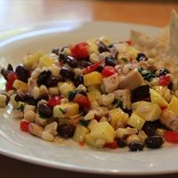 Black Bean and Mango Chicken Salad