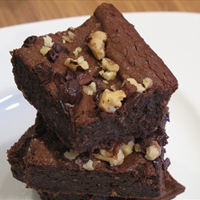 Delicious Gooey Vegan, Gluten Free Black Bean Brownies