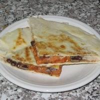 Black Bean/sweet Potato Quesadillas