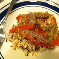 Black Pepper Beef and Cabbage Stir Fry - Michael -
