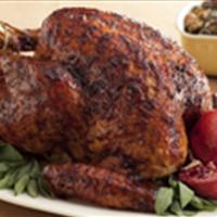 Black Pepper-Pomegranate Molasses Glazed Turkey