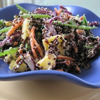 Black Quinoa Asian Slaw