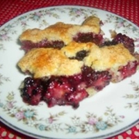 Blackberry Cobbler 3