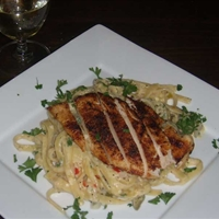 Blackend Chicken Alfredo Diablo