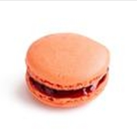 Blood Orange Macaroons