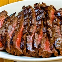 Bloody Mary Marinated Flank Steak