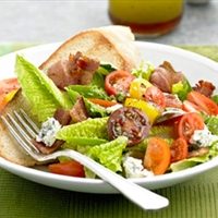 BLT Salad with Vinaigrette