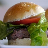 Blue Cheese Burgers With Red Onions