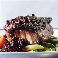 Blueberry Bourbon Marinade