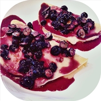 Blueberry Crepes