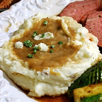 Boursin Cheese Mashed Potatoes