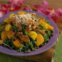 Brazilian Pork Salad with Tangerine Vinaigrette