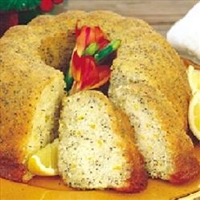 Bread - Poppyseed Bundt